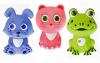 """Курносики - Игрушка для ванной """"Первые друзья"""" из трёх игрушек 25089"""