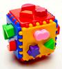Куб логический. Развивающая игрушка. Россия